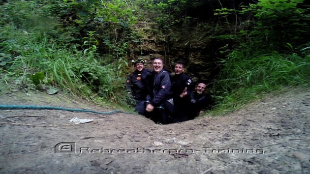 Mine diving - Rebreatherpro-Training