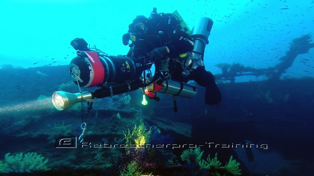 Another great days wreck diving in Sardinia :-) Living the dream !! - Rebreatherpro-Training