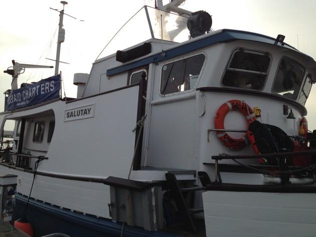 Diving on the MV Salutay - Rebreatherpro-Training