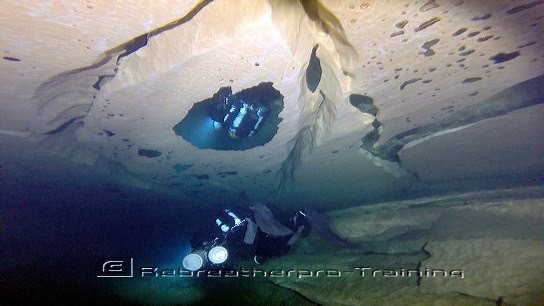 Cave Diving in the South of France - Rebreatherpro-Training