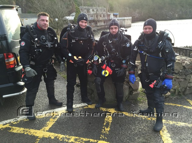 Rebreather Diving at Stoney Cove - Rebreatherpro-Training