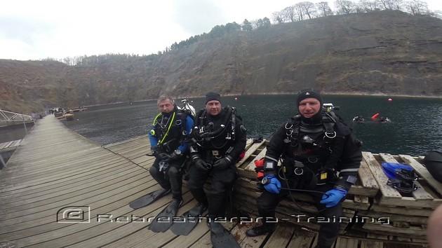 Kev and Micks Normoxic Trimix Course. - Rebreatherpro-Training