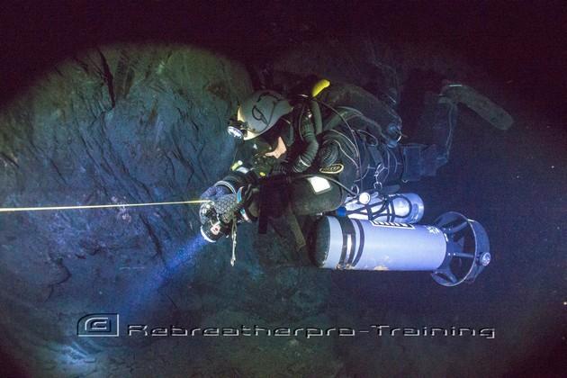 UK Mine and Cave weekend - Rebreatherpro-Training