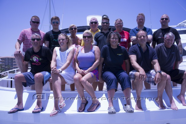 Res Sea Team photo :-) - Rebreatherpro-Training
