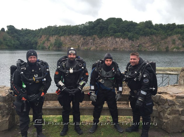 Congratulations to Guy on his AP rebreather course - Rebreatherpro-Training