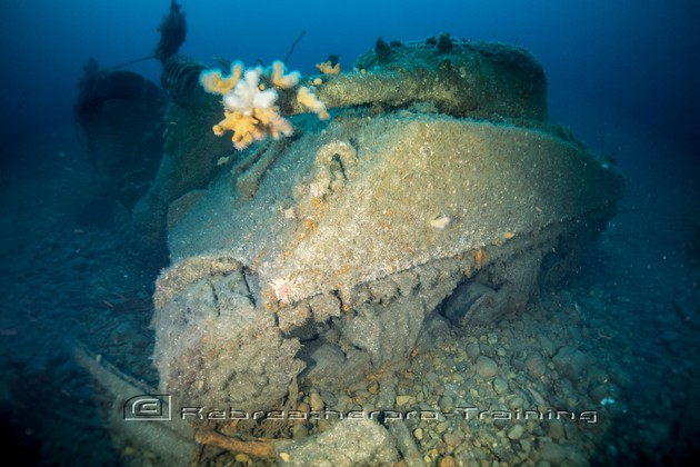 Great dive on the Empire Heritage - Rebreatherpro-Training