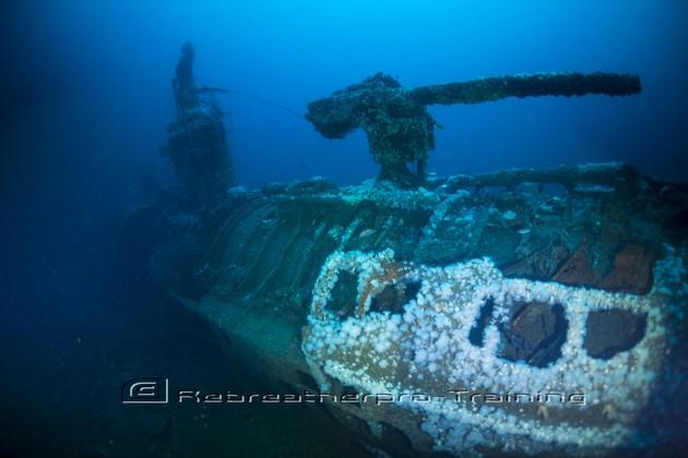 Diving the U89 Submarine in Malin Head - Rebreatherpro-Training