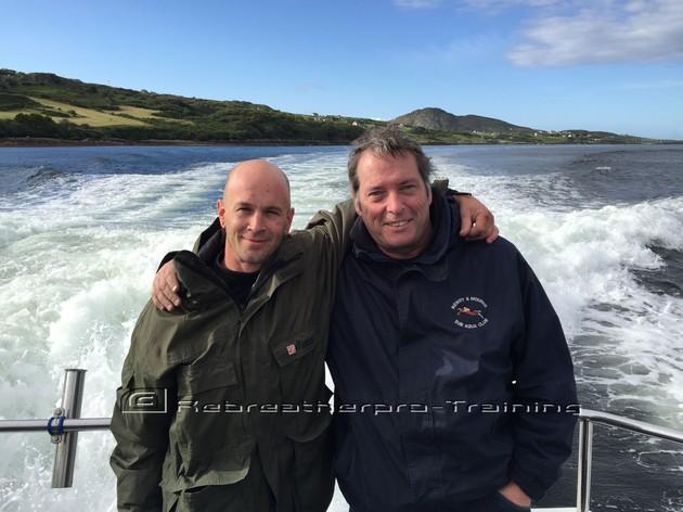Congratulations to David and Tony !! - Rebreatherpro-Training