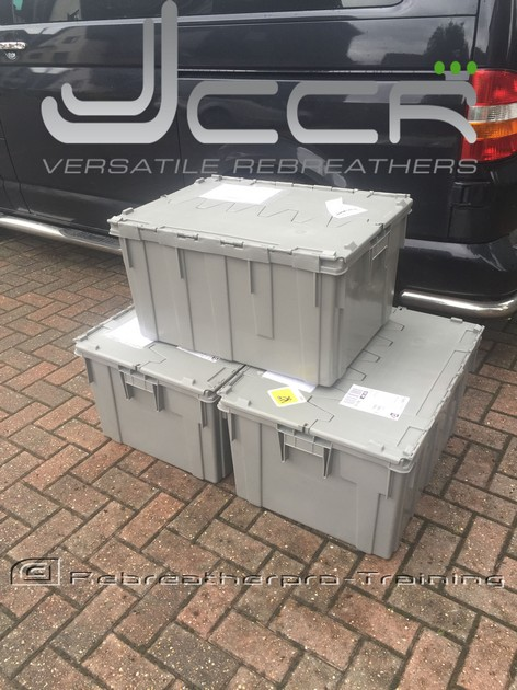 Another Delivery of JJ-CCR's - Rebreatherpro-Training