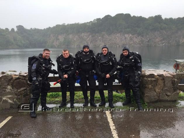 JJ-CCR TDI air deco diver course - Rebreatherpro-Training