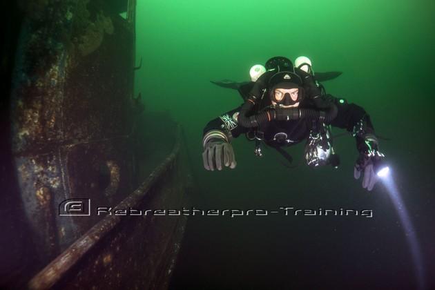Congratulations to Damian on passing his TDI JJ-CCR deco diver course - Rebreatherpro-Training