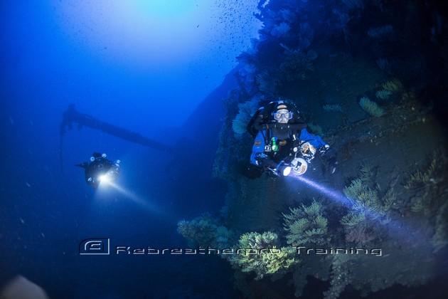 Sardinia Wreck diving 2015 - Rebreatherpro-Training