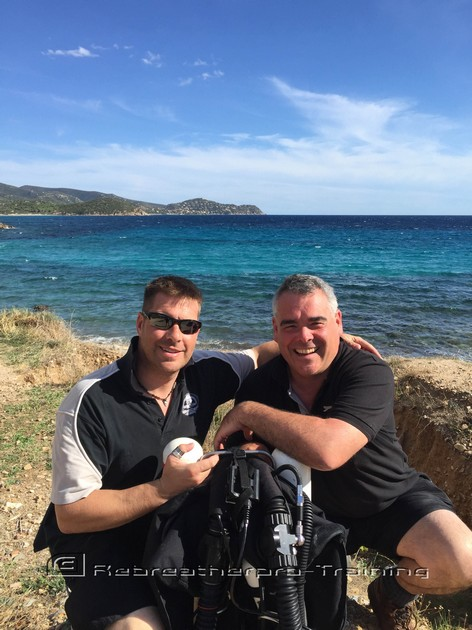 Another Happy JJ-CCR Dive Can Diver - Rebreatherpro-Training