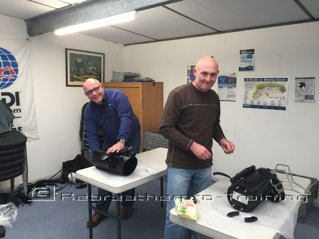 Two happy new JJ CCR owners - Rebreatherpro-Training