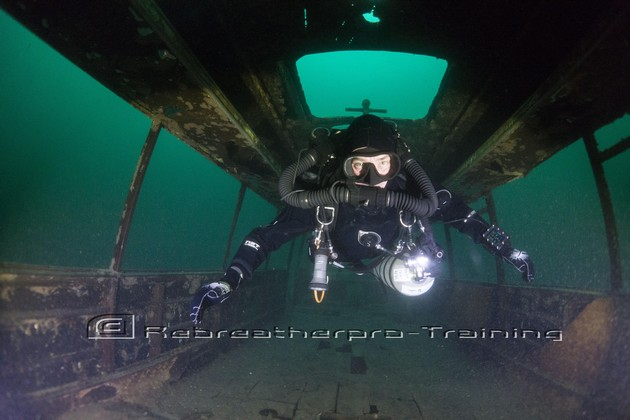 Congratulations to Tim Brown on completing his JJ-CCR TDI air diluent diver - Rebreatherpro-Training