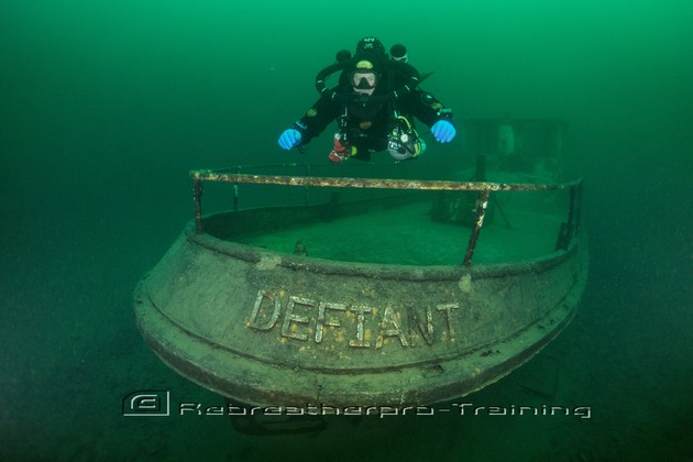 Congratulations to Richard who completed his SF2 Rebreather Course - Rebreatherpro-Training