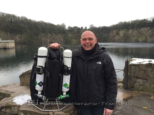 Congratulations to Joel Chase who completed his JJ-CCR crossover - Rebreatherpro-Training