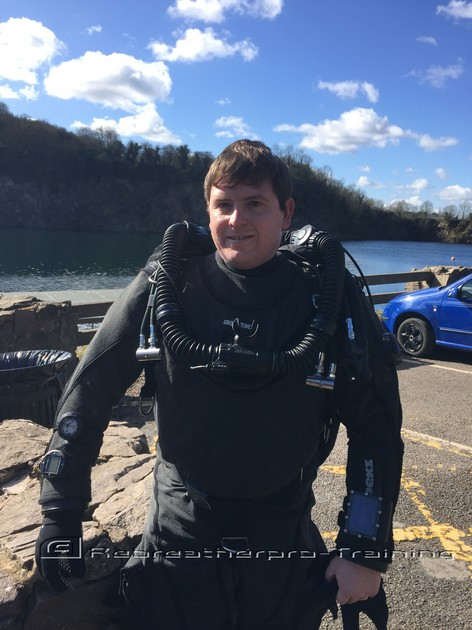 A new rebreather diver in the making. - Rebreatherpro-Training