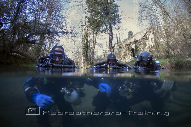 TDI CCR Full Cave Course in France - Rebreatherpro-Training