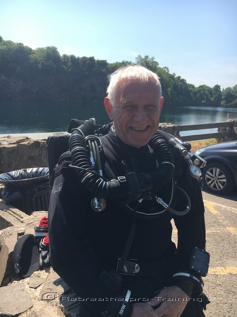 Congratulations to John who completed two try dives today on two different - Rebreatherpro-Training