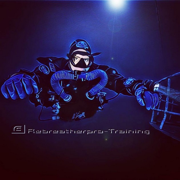 M3S Triton Chest Mounted Rebreather. - Rebreatherpro-Training