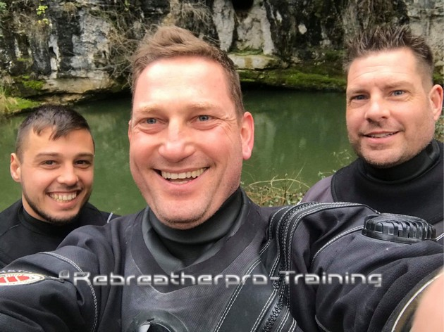 Congratulations to Jack1 on completing his CCR Full Cave Course - Rebreatherpro-Training