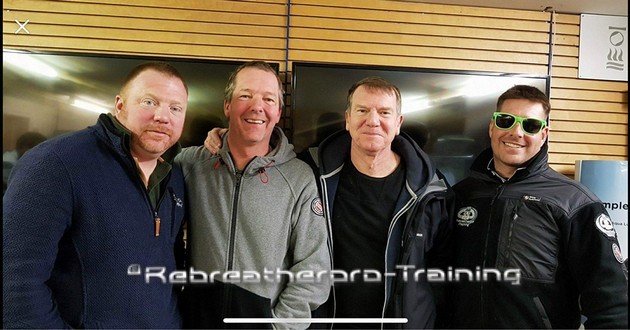 Congratulations to George, Ian and Paul - Rebreatherpro-Training