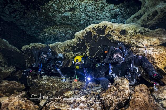 Rebreather Cave Diving - Rebreatherpro-Training