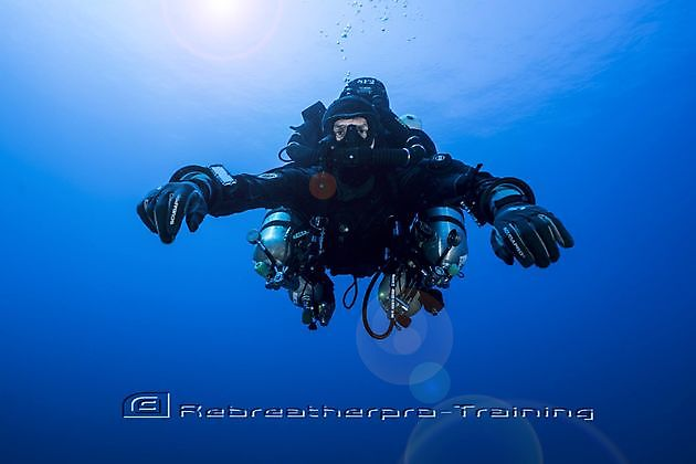 Rebreather Diving Course - Rebreatherpro-Training