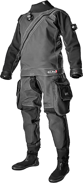 Santi E-Lite PLUS Drysuit - Rebreatherpro-Training