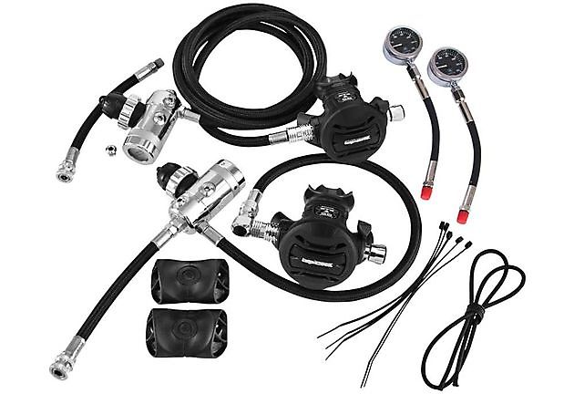 Apexs XTX50 Sidemount regulator set - Rebreatherpro-Training