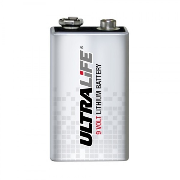 Ultralife 9V Lithium Battery U9VL - Rebreatherpro-Training