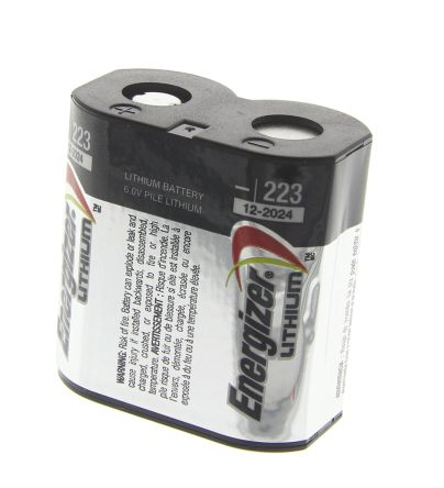 Energizer 223 6V Lithium Battery - Rebreatherpro-Training