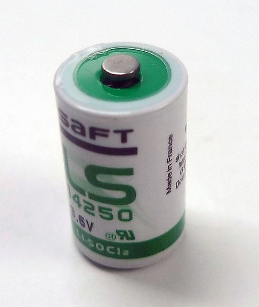 Saft LS14250 1/2AA battery - Rebreatherpro-Training