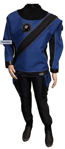 Otter Atlantic Drysuit - Rebreatherpro-Training