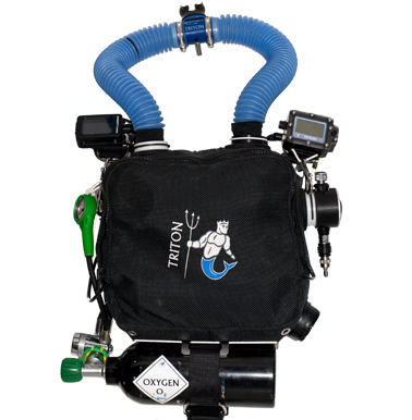 Triton Chest Mounted Rebreather - Rebreatherpro-Training
