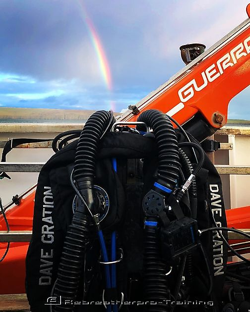 Rebreathers really are the treasure at the end of the rainbow - Rebreatherpro-Training