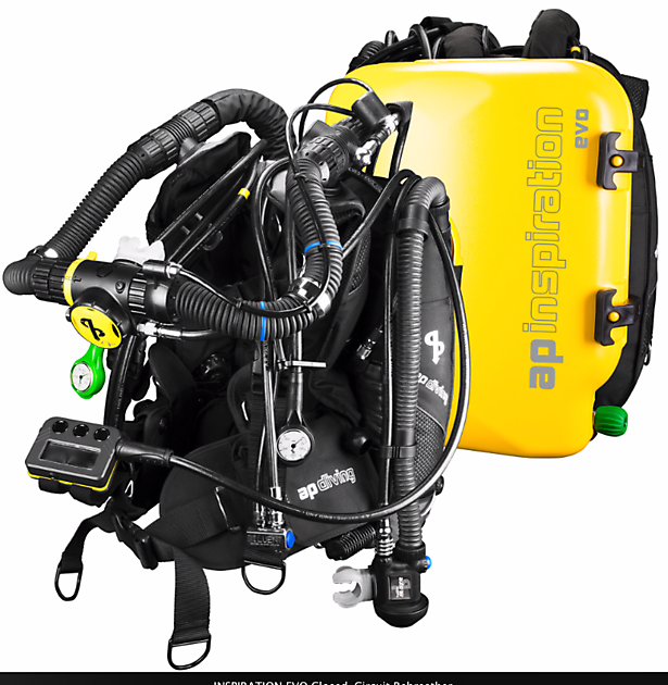 Ap Diving Inspiration Full Service Rebreatherpro-Training