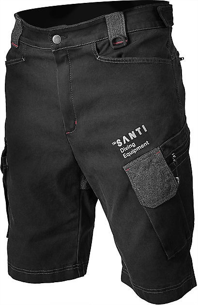 Santi SCUBA DENIM Shorts - Rebreatherpro-Training
