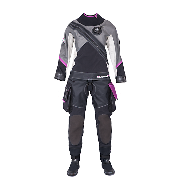 Santi E.Motion Ladies First drysuit - Rebreatherpro-Training