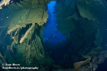 Loredon Wreck, Sardinia Rebreatherpro-Training