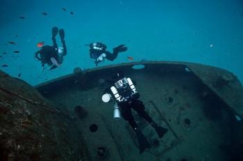 Sentinel diver in Malta Rebreatherpro-Training