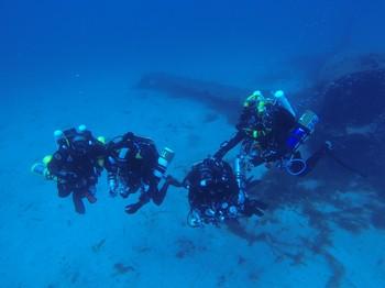 Rebreather divers on the Douglas DC60 Rebreatherpro-Training