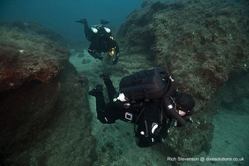 Sentinel Diver on Mod 1 course Rebreatherpro-Training