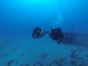 IANTD ART student divers on the Bluebird Rebreatherpro-Training