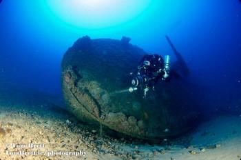 Rebreather Diver in Sardinia Rebreatherpro-Training