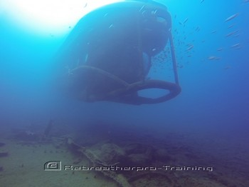 Not a rebreather, but a submarine for the tourists in Gran Canaria Rebreatherpro-Training