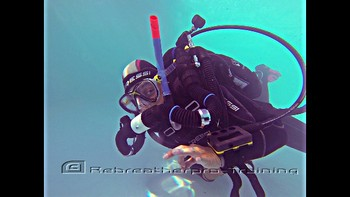 Rebreather try dives are the perfect way to see if you like rebreathers buy Rebreatherpro-Training