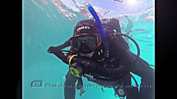 AP diving rebreather CCR try dive Rebreatherpro-Training