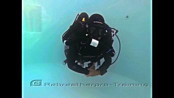 Padi discover rebreather diver course Rebreatherpro-Training